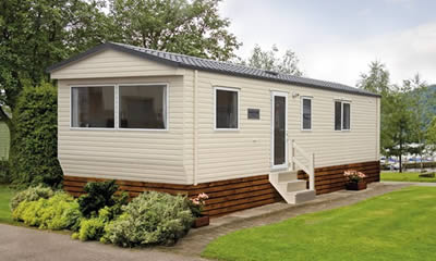 New Atlas Sapphire caravan holiday home