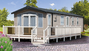 New Swift caravan holiday home