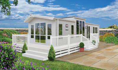 New Willerby caravan holiday home